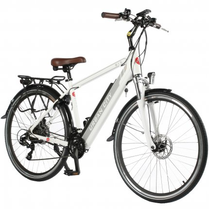 "AsVIVA B15-H e-Bike CityBike 28"" 36V pedelec electric trekking bike white"