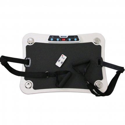 AsVIVA Vibrationsplatte Vibrationstrainer V8 weiß direkt vom Fitnessprofi