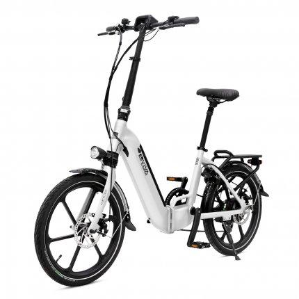 """E-Bike 20"""" Klapprad B13 Stadtfalter AsVIVA 36V 14,0Ah Elektro-Klapprad Elektrofahrrad Pedelec weiß"""