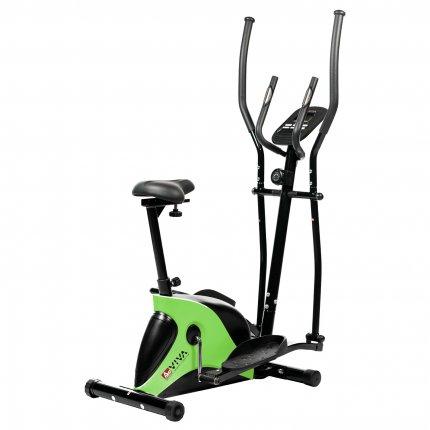 (B-Ware) Crosstrainer & Heimtrainer AsVIVA C16 Bluetooth grün 2 in 1 Cardio