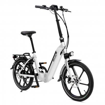 """E-Bike 20"""" Klapprad B13 Stadtfalter AsVIVA 36V 17,5Ah Elektro-Klapprad Elektrofahrrad Pedelec weiß"""
