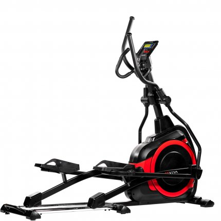 AsVIVA E4 Pro Elliptical Trainer and Ergometer Bluetooth
