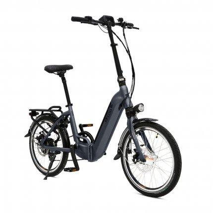 """E-Bike 20"""" Klapprad B13 Stadtfalter AsVIVA 36V 14,0Ah Elektro-Klapprad Elektrofahrrad Pedelec grau"""