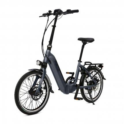 """E-Bike 20"""" Klapprad B13 Stadtfalter AsVIVA 36V 17,5Ah Elektro-Klapprad Elektrofahrrad Pedelec grau"""