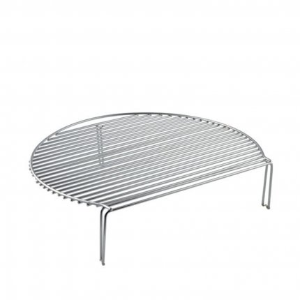 Stainless steel tiered grate for RedNeck ceramic grill